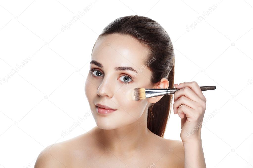 Girl In Makeup