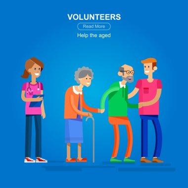 Volunteers design concept