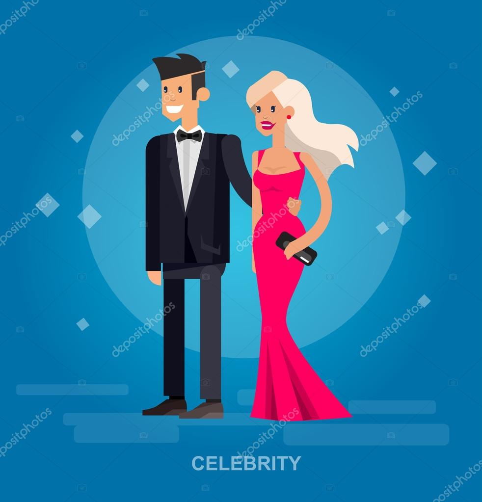 Two rich and beautiful celebrities