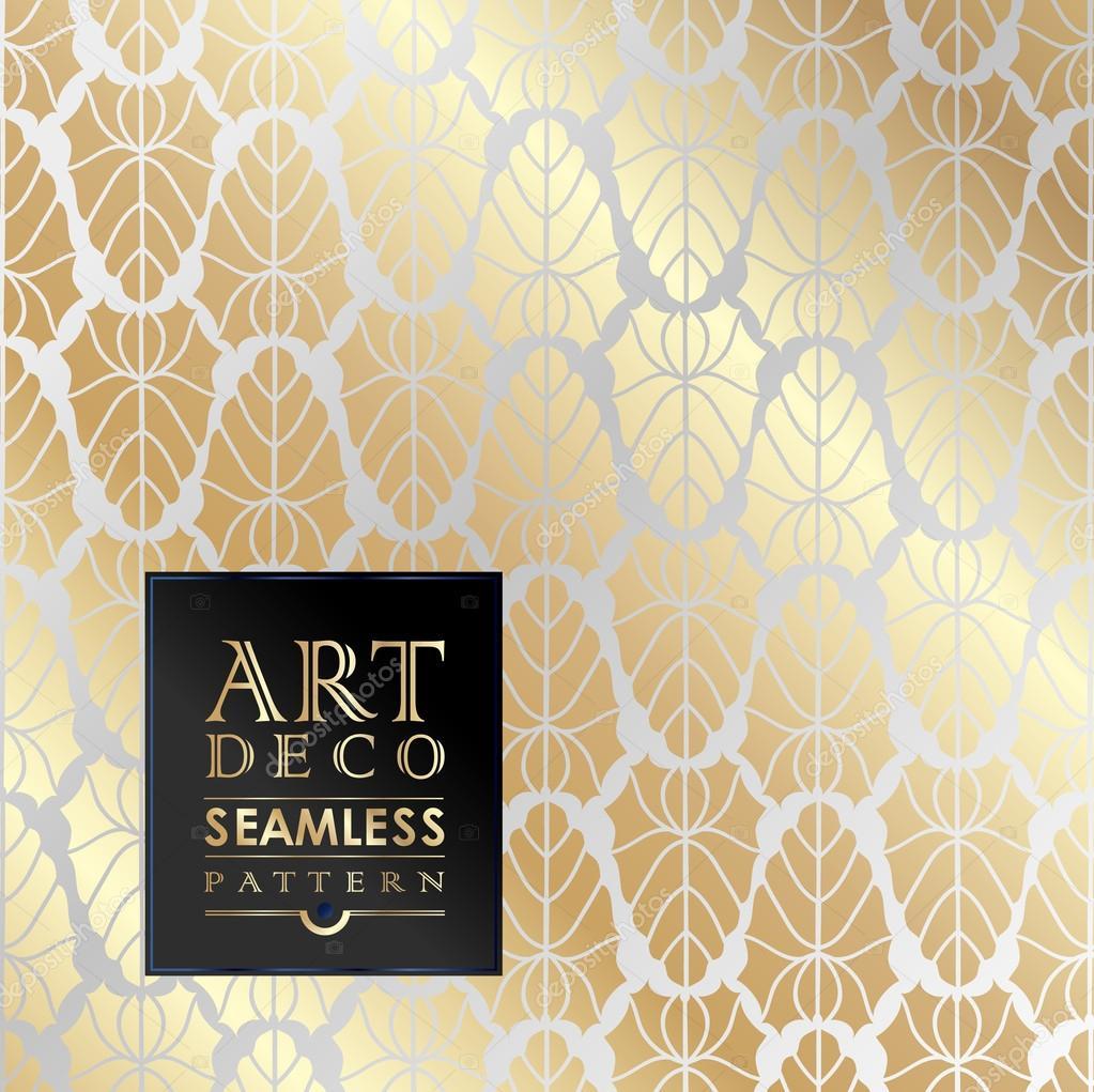 mod le sans couture papier peint art deco image vectorielle merfin 79117900. Black Bedroom Furniture Sets. Home Design Ideas