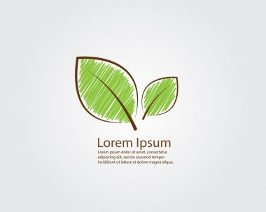 Green Leaf Logo Vector