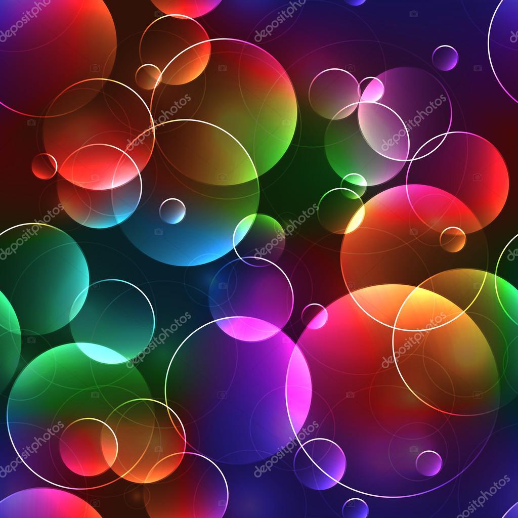 Fondo Burbujas De Colores Fondo Transparente Con Burbujas En