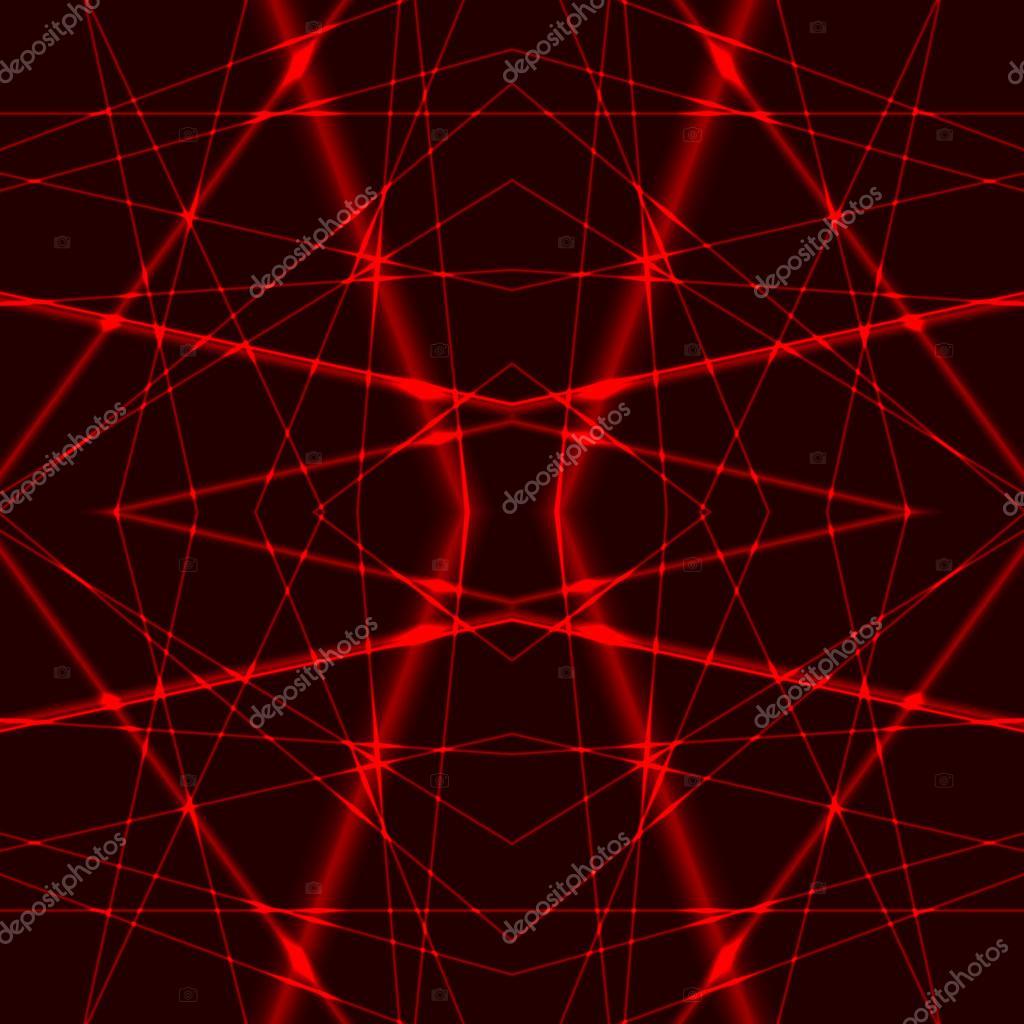 빨간 레이저 광선 완벽 한 배경 — 스톡 벡터 © ledinka #67659333