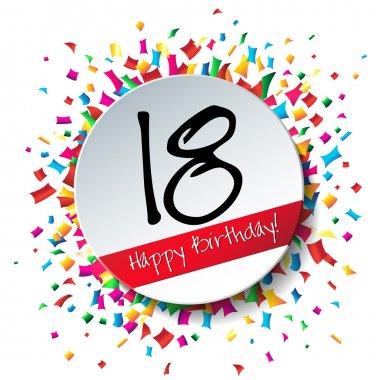 18 Happy Birthday background