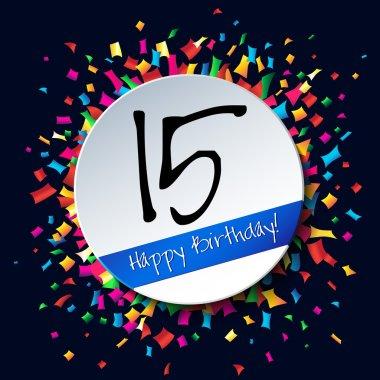 15 Happy Birthday background