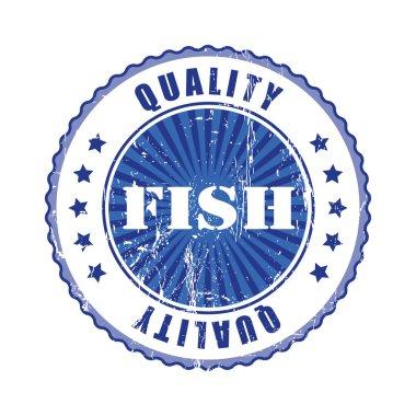 Fish Quality Stamp.