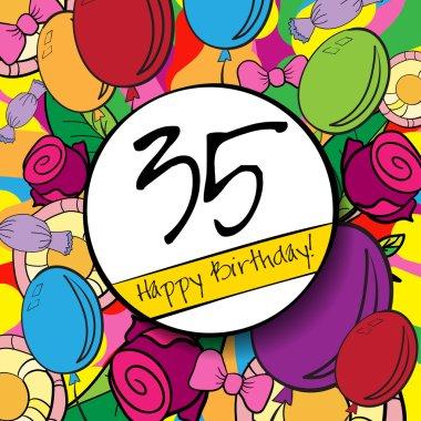 35 Happy Birthday background