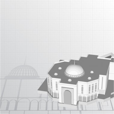 background for architectural project