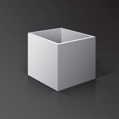 3D Open Box Mockup