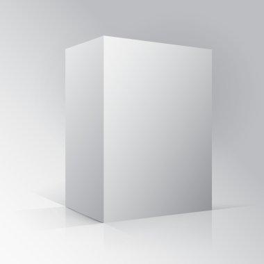 3D Cube Parallelogram Mockup