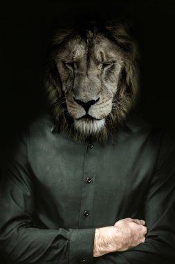 The lion's head man