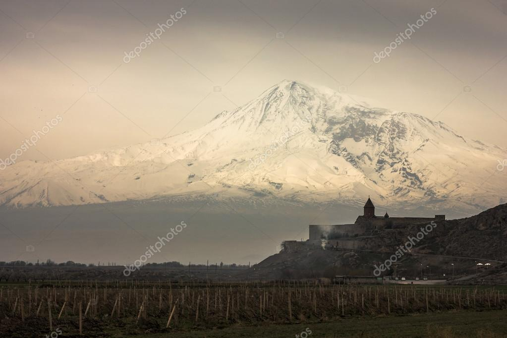 Mount Ararat and  Khor Virap