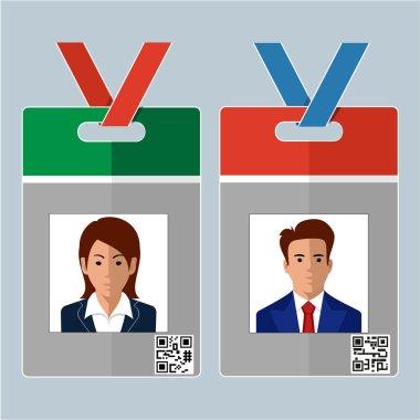 Vector Identification Card