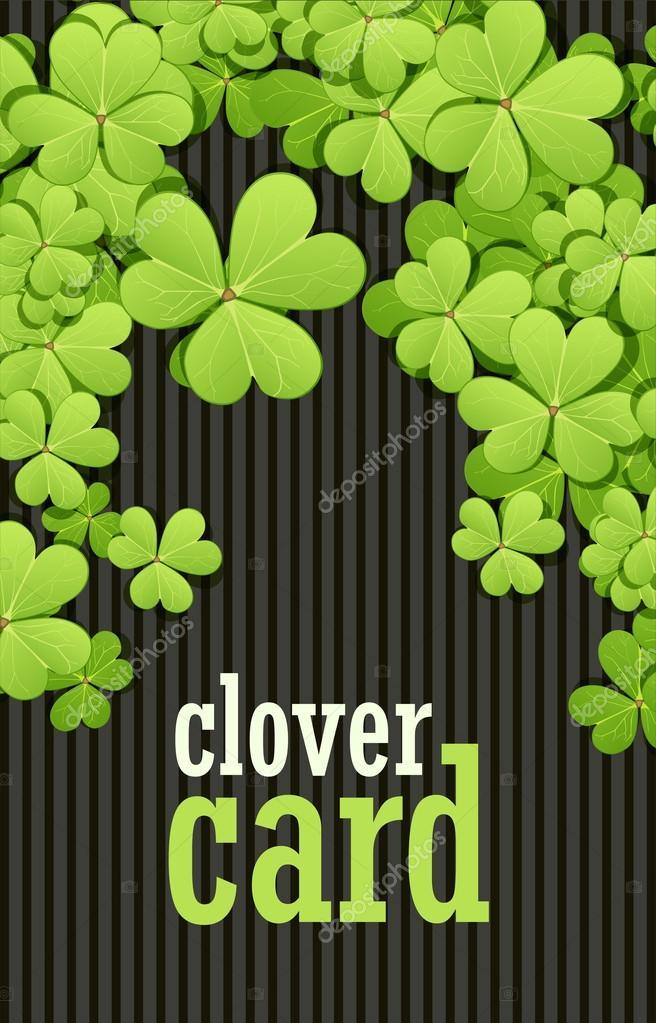 Fondo de día de St Patrick. Ilustración vectorial para el diseño de ...