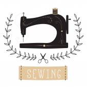 Fotografie Vintage Sewing Machine