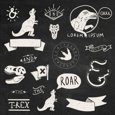 Tyrannosaurus Rex labels