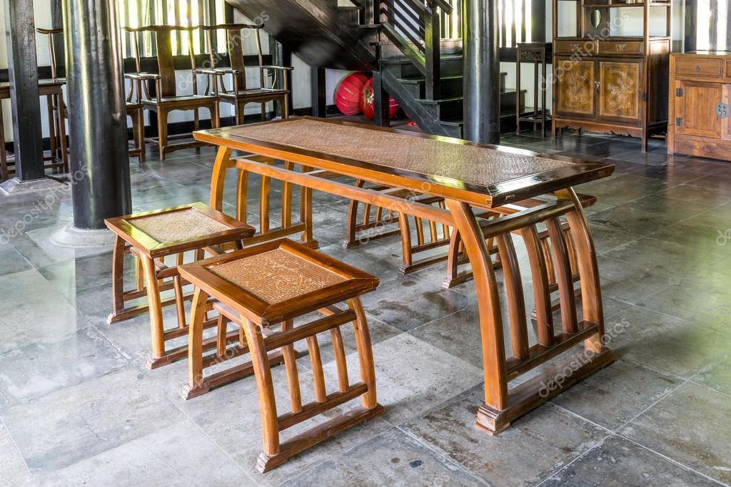 architecture de la Chambre chinoise, intérieur avec des et chaise en ...