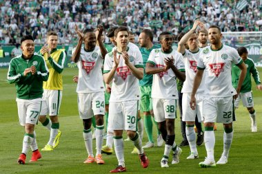 Ferencvaros vs. Ujpest OTP Bank League football match