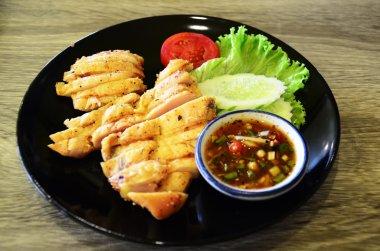 Classic roast chicken & Thai Spicy Sauce
