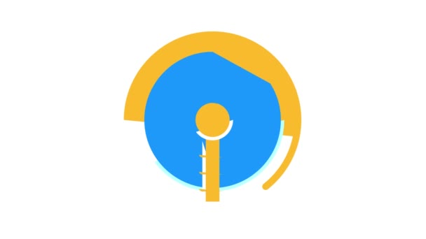 Animation des Farbsymbols der Kläranlage