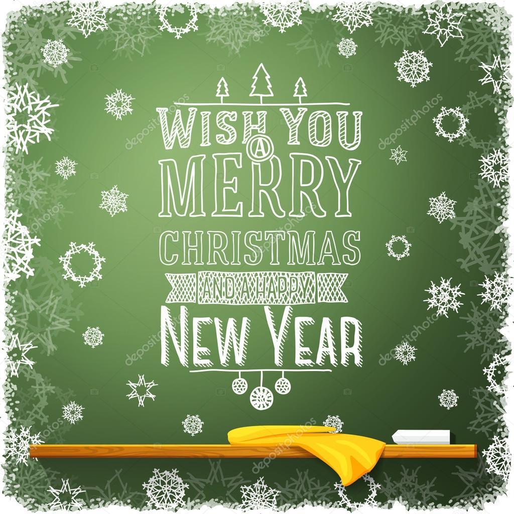 Wünschen Sie Ihnen Frohe Weihnachten und ein frohes neues Jahr ...