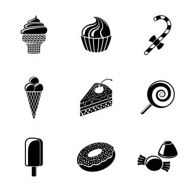 Sweet icons set