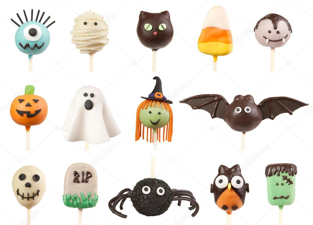 Halloween cake pops — Stock Photo © og-vision #54989153