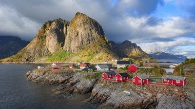 Reine fishing village at Lofoten Islands, Norway