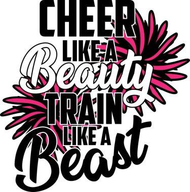 Cheer like a Beauty Train like a Beast icon