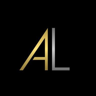AL letters logo