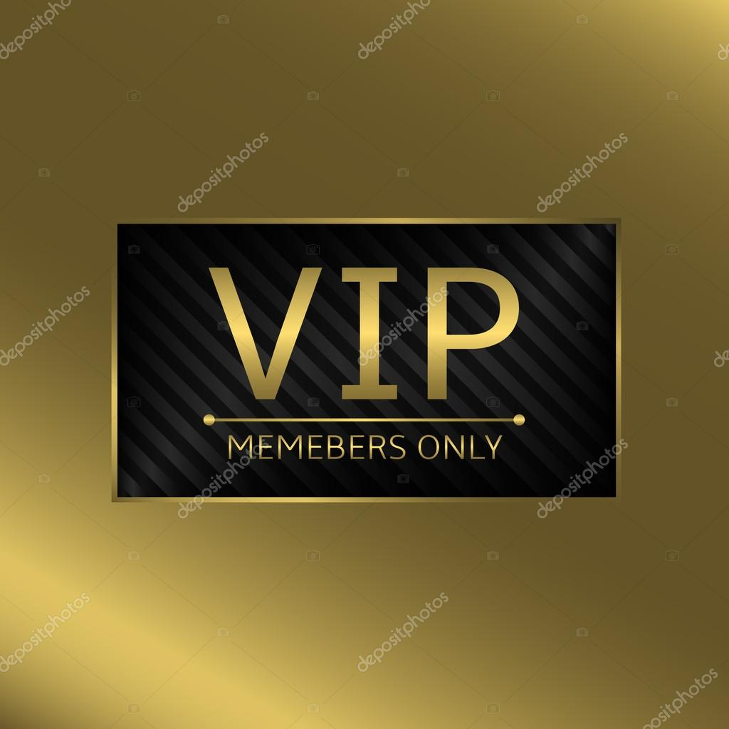 VIP business card — Stock Vector © mishabokovan #88675114