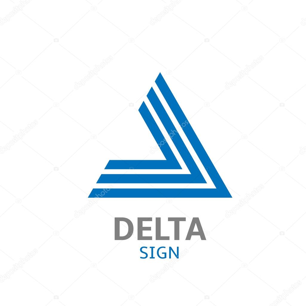Delta Logo Sign Stock Vector Mishabokovan 94747844