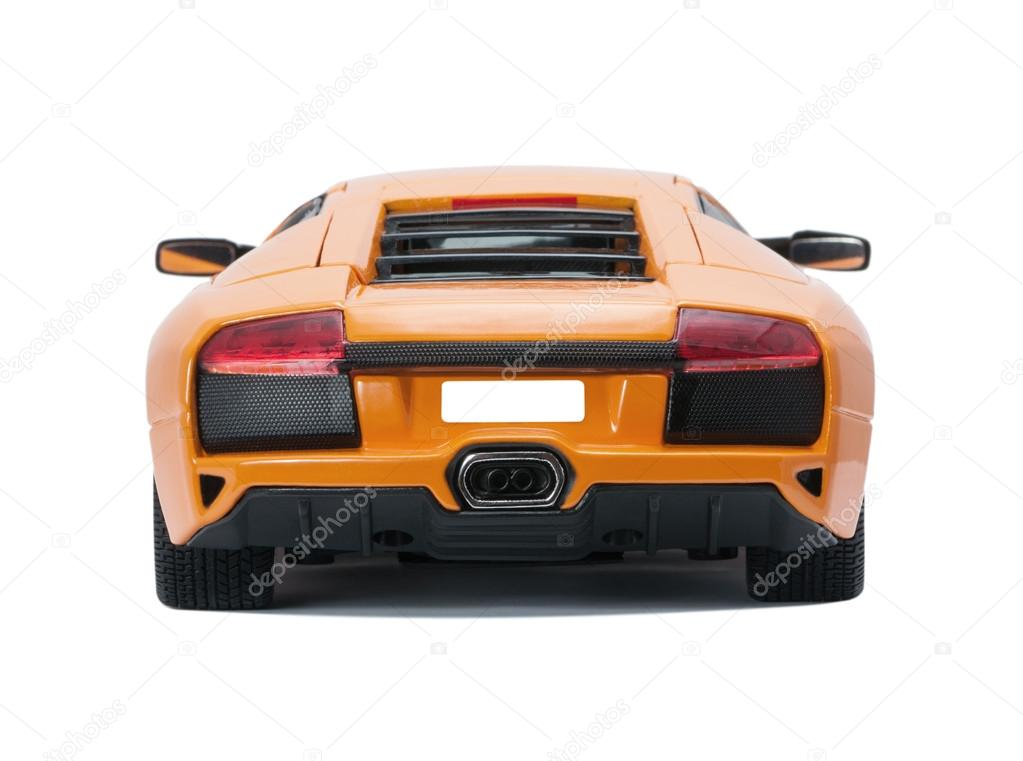 Collectible Toy Model Lamborghini Back View Stock Editorial Photo