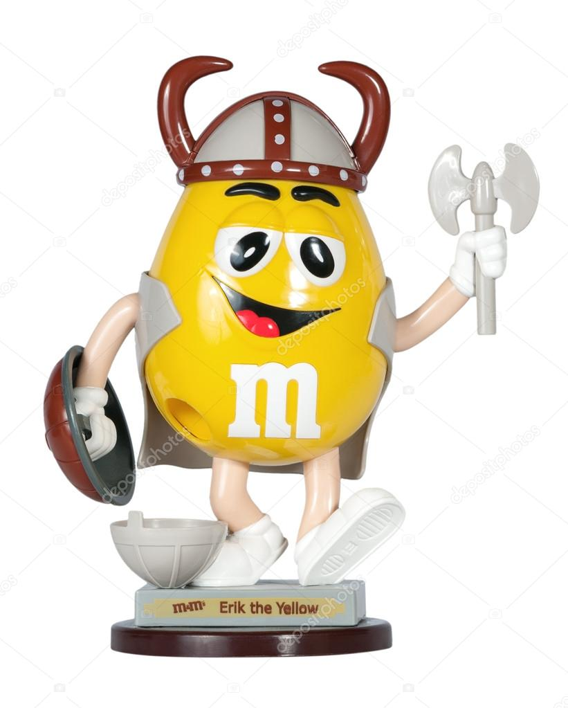 M & M's Toy Viking