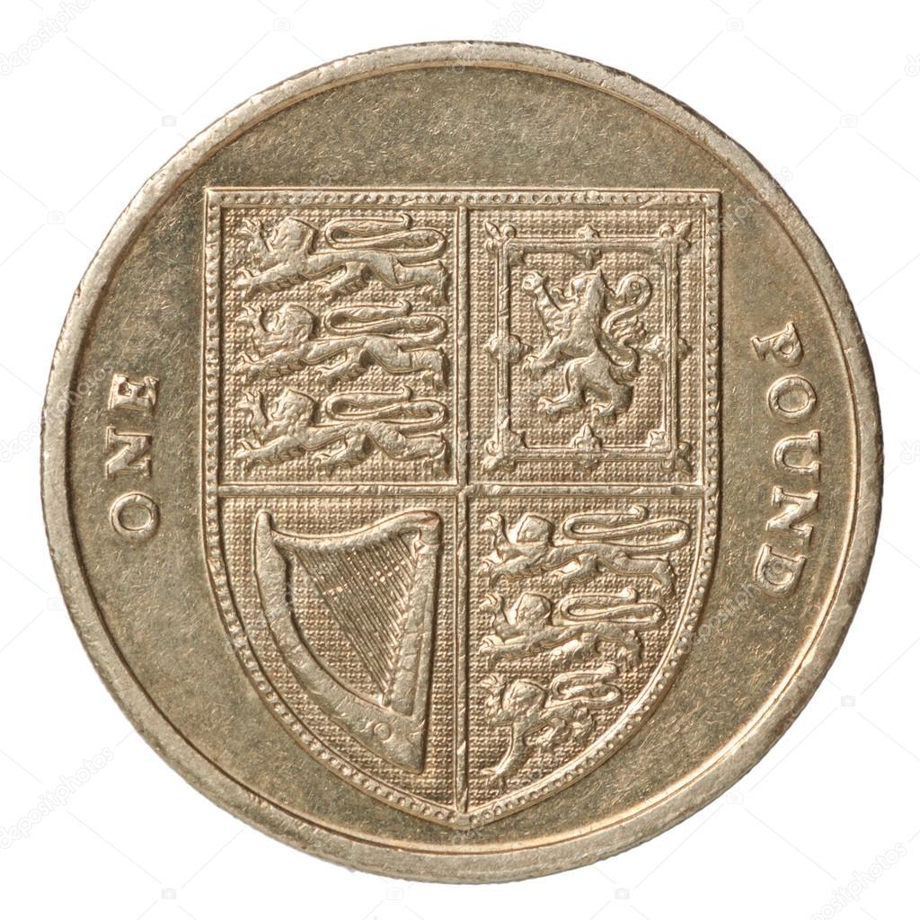 Britische Pfund Münze Stockfoto Andreylobachev 63800645