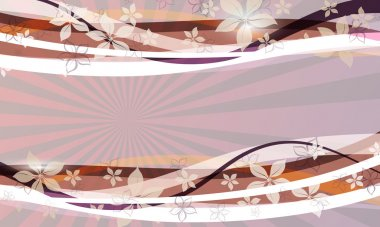 Abstract spring background.Vector