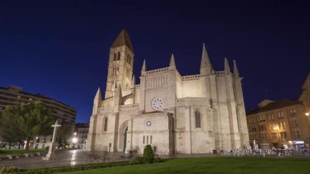 Iglesia De Santa Maria De La Antigua In Valladolid