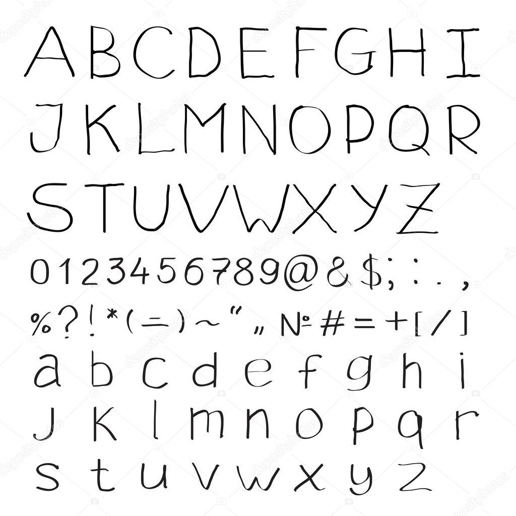 Латинские буквы знакомства