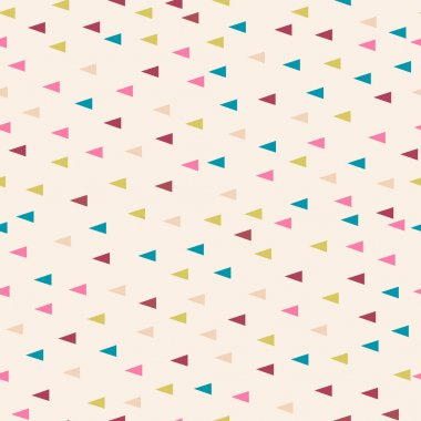 Triangle pastel powder background