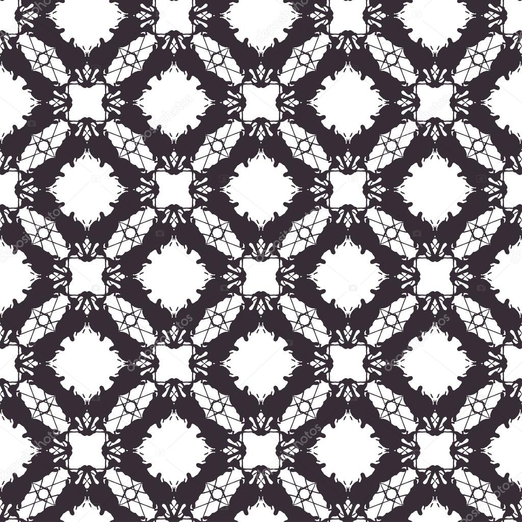 Lace vector seamless pattern, tiling — Stock Vector © kotoffei ...