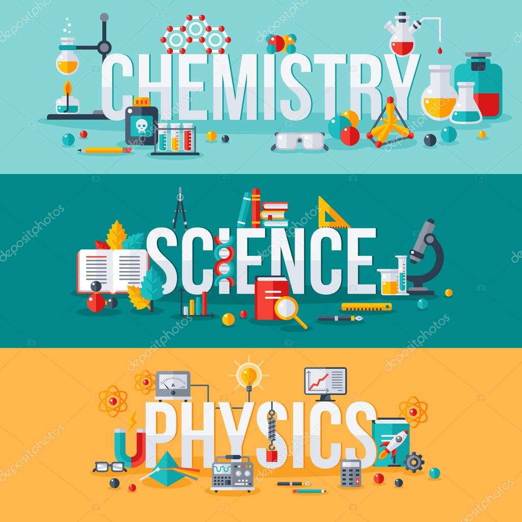 Chemistry, science, physics words