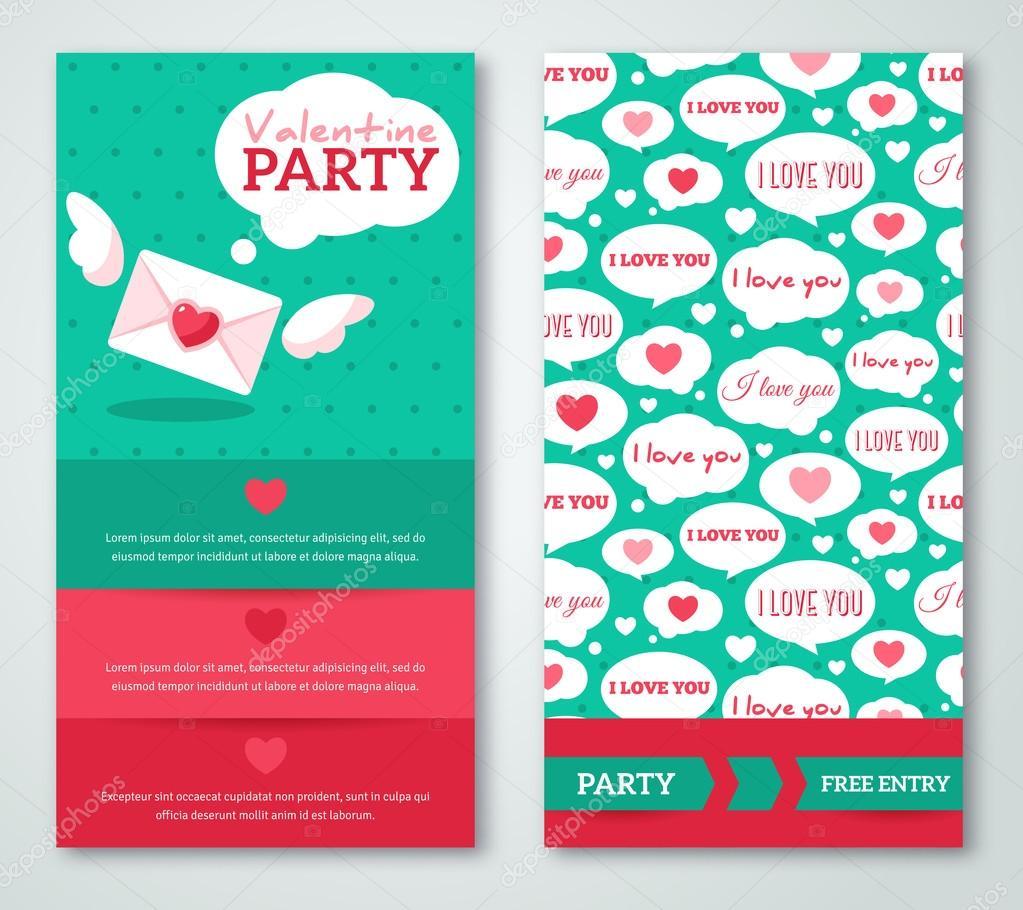 schöne gruß- oder einladungskarten mit sprechblasen-muster