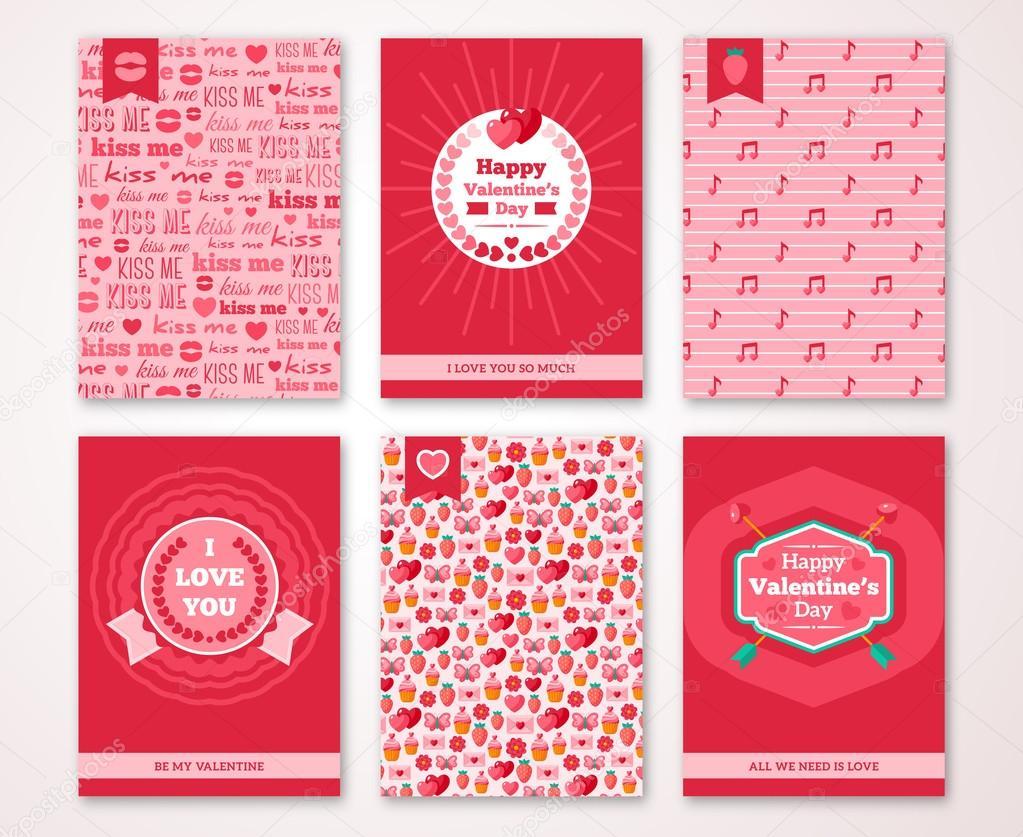 Valentinstag-Plakat, Banner, Einladung — Stockvektor © kotoffei ...