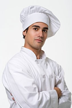 Portrait of a young male chef