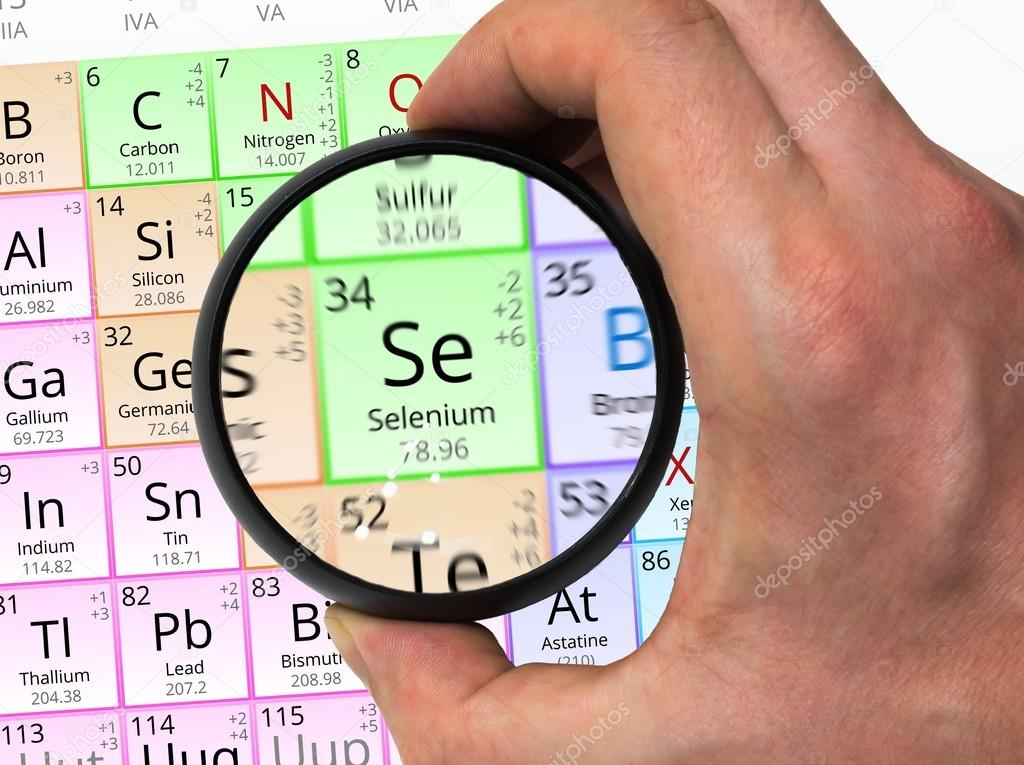 Smbolo del selenio se elemento de la tabla peridica ampliada smbolo del selenio se elemento de la tabla peridica ampliada con foto de urtaz Images