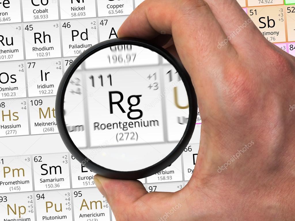 Smbolo del ununumio rg elemento de la tabla peridica ampliada smbolo del ununumio rg elemento de la tabla peridica ampliada wi foto de urtaz Images