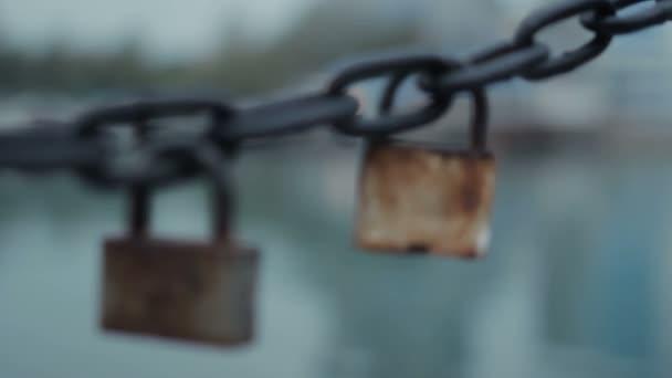 zámek a řetěz