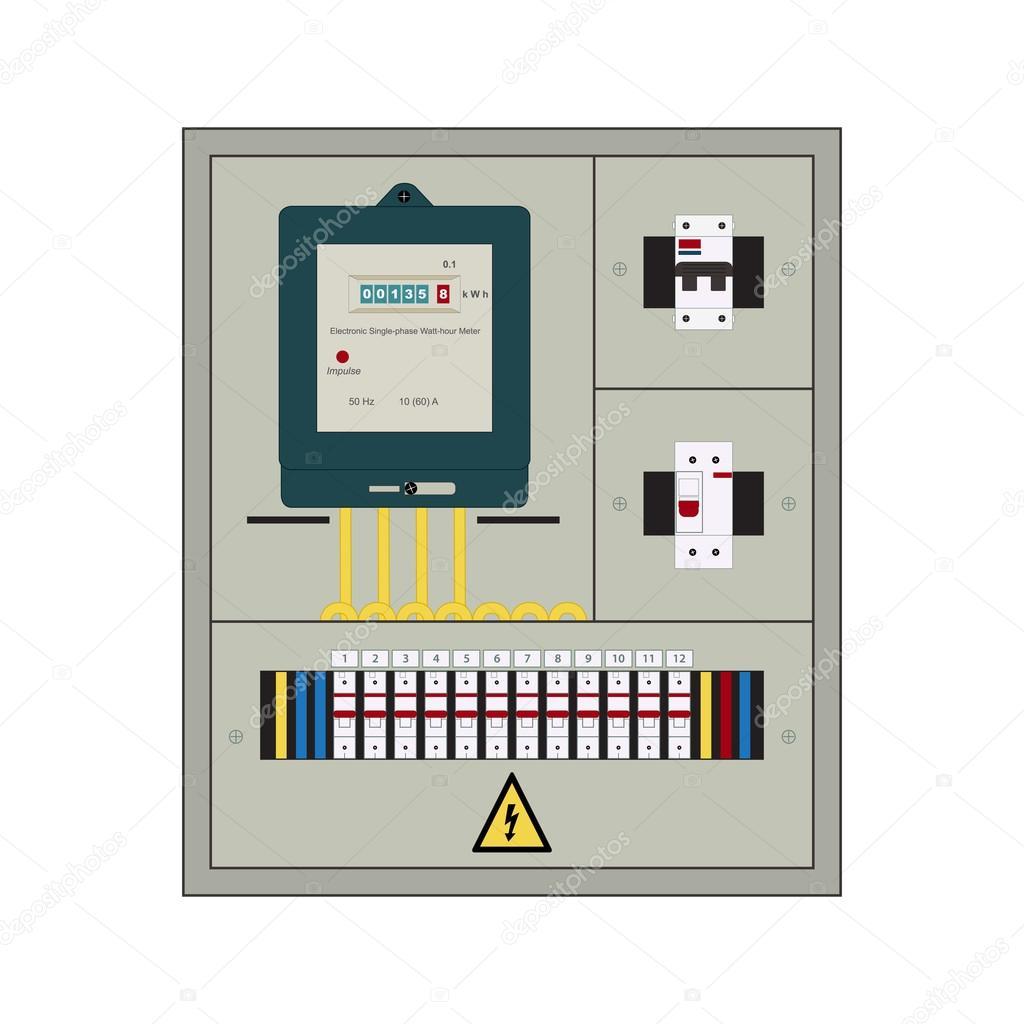 Electrical Panel Box Stock Vector Alexandrus1 98397678