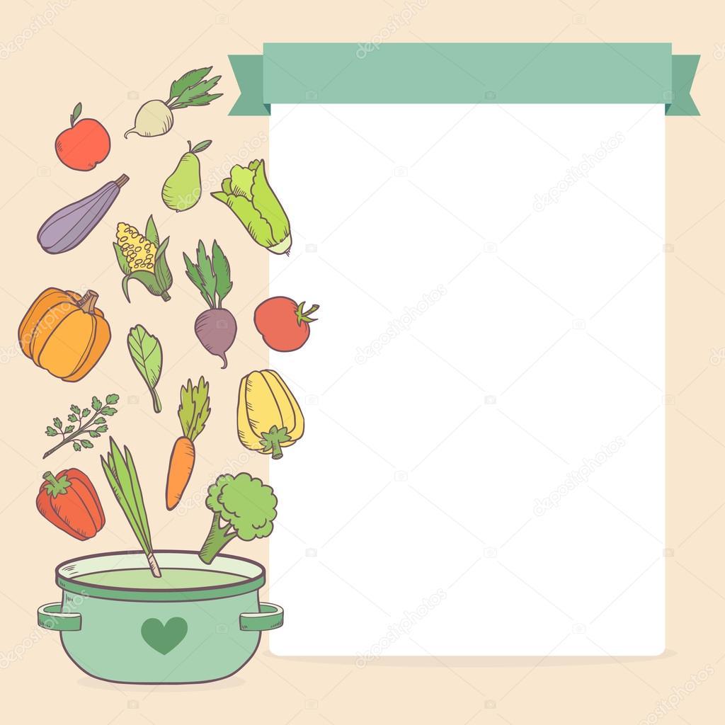 Imágenes: plantillas para recetas | plantilla de recetas de ...