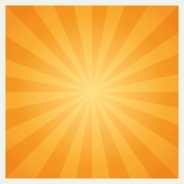 Hot summer sun burst background